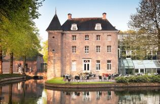 Königlich residieren im niederländischen Wasserschloss!