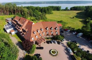 Entspannung inmitten der Mecklenburgischen Seenplatte & Blick auf See