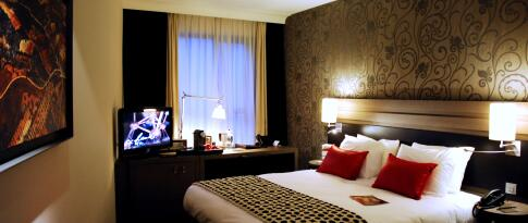 Deluxe King oder Twin Zimmer