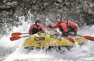 Adrenalingeladene Sommer-Erlebnisse mitten in der Tiroler Natur