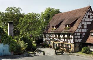 Sterne-Küche im Grünen und Sightseeing in Nürnberg