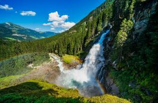 Wellnessurlaub an Europas höchstem Wasserfall