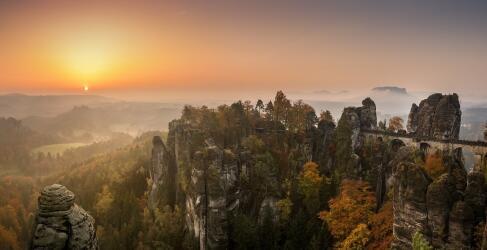 Landschaften in und um Dresden