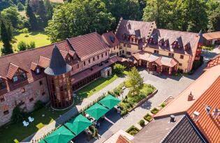 Fürstlich übernachten im wunderschönen bayrischen Jagdschloss