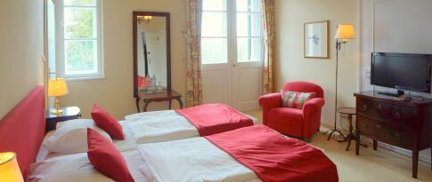 Standard Doppelzimmer mit Dorfblick