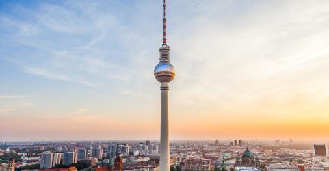 Städtereise mit Fernsehturm Berlin