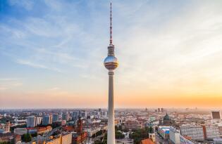 Genießen Sie den spektakulären 360° Panoramablick auf Berlin