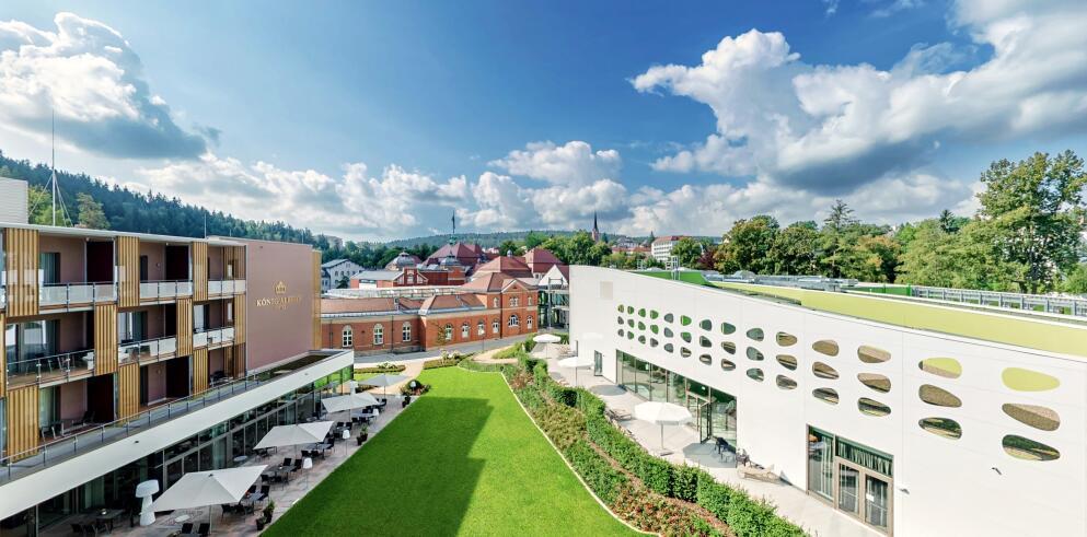 Hotel König Albert + Soletherme Bad Elster 72761