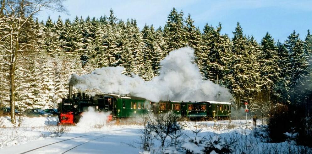Brockenbahn Zugfahrt 73048