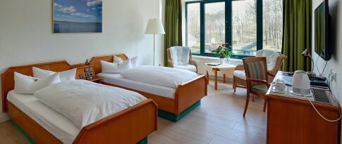 Zweibettzimmer Parkseite