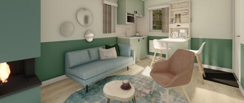 Premium-Apartment für 2 Personen – erneuert (1261)