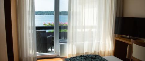 Einzelzimmer zur Seeseite