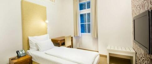 Einzelzimmer im Hotel Rimski dvor