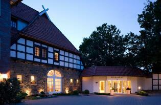 Stilvolles Hotel in einem ehemaligen Gutshaus