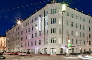 Fantastische Innenstadtlage im farbenfrohen Designhotel