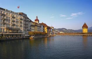 Beste Lage direkt am Fluss in der Luzerner Altstadt