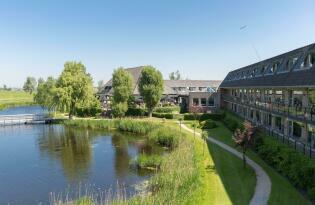 Authentisches Hotel in idyllischer Lage unweit von Amsterdam