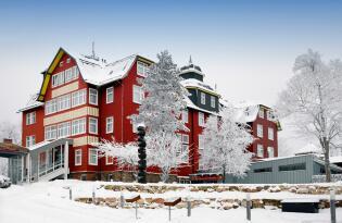 Naturnaher Wellnessurlaub mit modernem Design im Thüringer Wald
