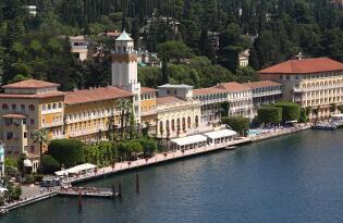 Geschichtsträchtiges Premium Hotel am Ufer des Gardasees