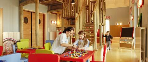 Kinderclub mit Betreuung