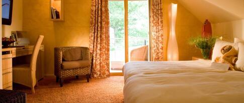 Doppelzimmer Country Design im Landhaus