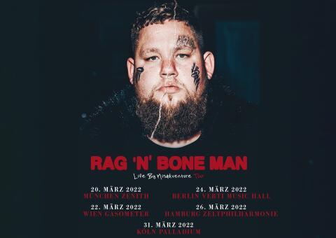 Rag'n'Bone Man - Konzert in München