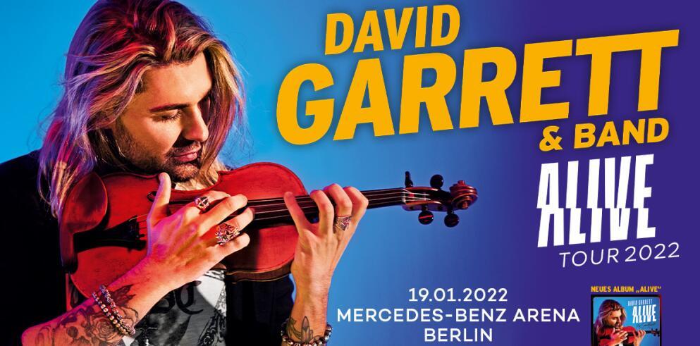 David Garrett & Band ALIVE Tour 2022 - Berlin 88992