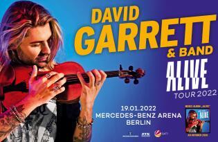 Erleben Sie den Stargeiger am 19.01.2022 live in der Mercedes-Benz Arena